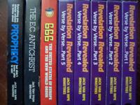 Nice collection of Jack Van Impe VHS Tapes.