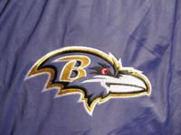 This is a brand new BALTIMORE RAVENS jacket, with tags