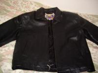 Description NEW jacket, ORIGINAL LEATHER. NO TAG. FOR