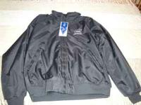 Jacket with Glock Shooting Sports logo Black nylon