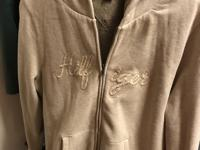 Ladies Tommy Hilfiger Jacket Beige With hood Very good