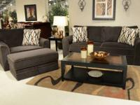 Jackson Coronado Couch - Chocolate - $639 ONLY $26 a