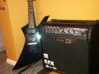 This is a jackson guitar i bought the guitar and amp
