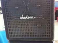 Great condition a pair the speaker box Jackson speaker