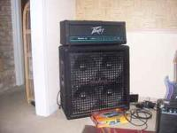 160 watt peavey supreme 160 head with Jackson cabinet