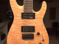 Like new Jackson 7 string. Upgraded to Seymour Duncan