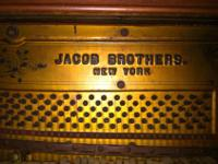 Jacobs Brothers built excellent pianos from about