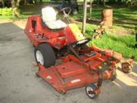 Jacobsen Turf Cat C322D riding mower, commercial