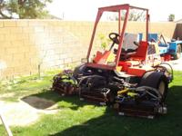 Jacobsen Commercial Lawn Mower model LF-135 turbo 4WD.