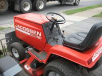 for sale jacobsen homealite rider 14 hp hydrostat
