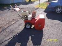 Selling Jacobsen Imperial Snowblower 6 HP. Heavy duty