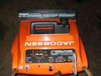 JACOBSEN SNOWBLOWER RUNS GOOD $75.00 CALL OR EMAIL