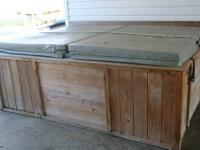 This is a special order Hot Tub. It was built with
