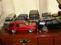 This is my Jada Dub Edition Car Collection. Their so