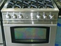 "Very Nice & Clean Jade 36"" Six Burner Gas Range (Gently"