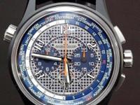 Jaeger-LeCoultre Amvox 5 World Chronograph, Ceramic &