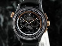 Jaeger LeCoultre AMVOX 5 World Chronograph Ceramic/Rose