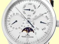 silver dial with raised baton hour markers, white sub-