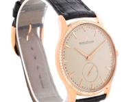 Case:18K rose gold ultra-thin round case 40.0 mm in