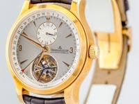 Jaeger LeCoultre Master Tourbillon 18k Rose Gold 41.5mm