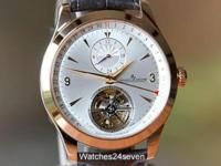 Jaeger LeCoultre Master Tourbillon Dual Time Rose Gold