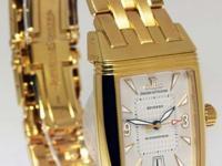 Jaeger LeCoultre Reverso Gran Sport 18k Gold Watch
