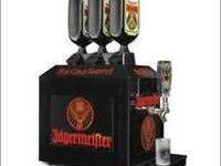 Jagermeister machine, Holds 3 bottles. Pick up only &