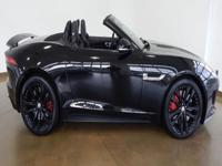2014 Jaguar F-type S BLACK/BLACK, MSRP $96,520FULLY