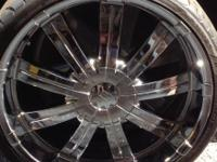 This is a beautiful set of wheels and tires for your