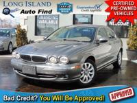 TAKE A LOOK AT THIS TOPAZ 2003 JAGUAR X-TYPE WITH