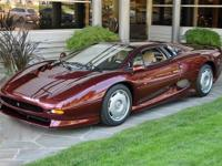 Constructed on January 28th 1993, this Monza Red XJ220