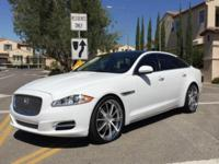 Former NBA owned 2012 Jaguar XJL ~ White Amazing car,