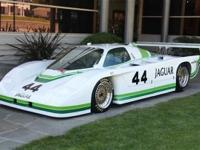 1984 Jaguar XJR-5 Chassis 010 Jaguar withdrew from