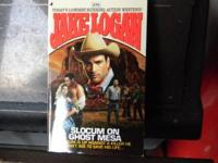 I have (206) jake logan adult western paperbacks. all