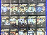 James Bond 007 Ultimate Edition collector DVD sets.