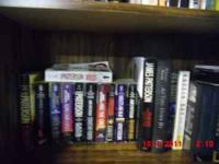 set of 23 James Patterson paperbacks and 5 hard cover