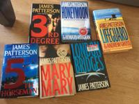 James Patterson books take all of them great