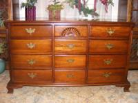 I have this Jamestown mahogany dresser. This dresser