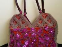 Embroidered Jamin Puech purse/mini bag. Remarkable for