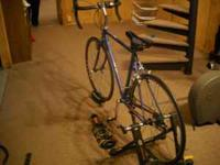 50cm Jamis Aurora Road Bike. Many Extras, Stand for