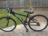 Trying to offer my Jamis Ranger mountain bicycle. It
