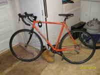 I've got a Jamis Nova Cycle Cross bike that I'm trying