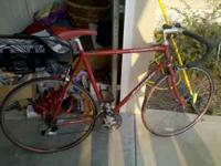 I have a Jamis Ventura Road Bike for sale. The bike is