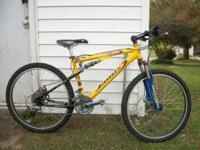 2004 JAMMUS 22 speed mountain bike in excellent shape,