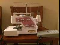 Terrific 4 thread serger. Is an older device, however