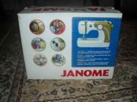 Janome 3125 new in the box. I got it and thought I was