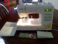 I paid $425.00, the sewing machine is about 6 months
