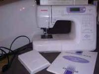 I paid 1200 for this Janome a couple of years ago. It's