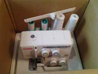 Used Two times. Janome My-Loc 204D Serger have the