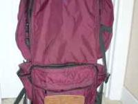 Very good condition, Jansport, made in the USA, padded